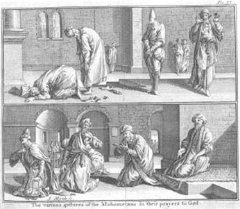 Prayer gestures