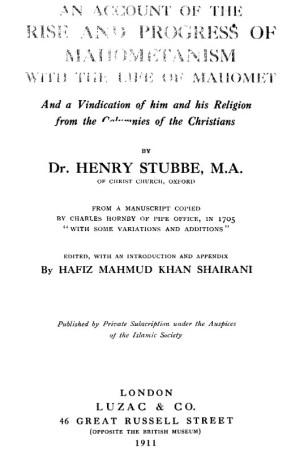 Henry Stubbe