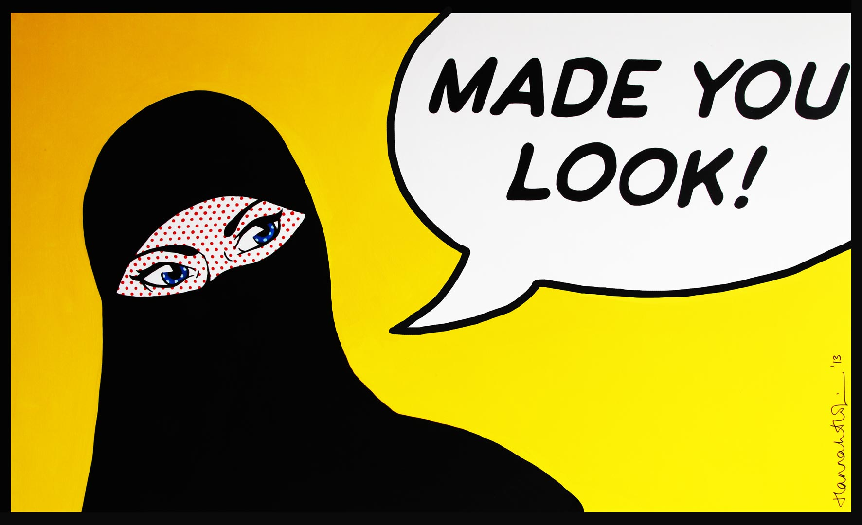 Made You Look! by Hannah Habibi Hopkin (c)