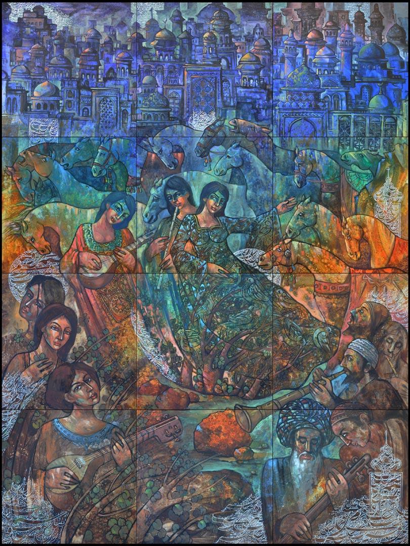 Pardis da Khane (Paradise at Home) by Mohsen Keiany (c)