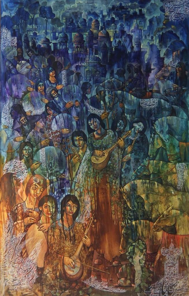 Sokhan-e-Eshq (Conversation of Love) by Mohsen Keiany (c)