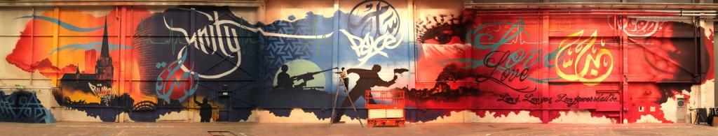 Birmingham Wall by Mohammed Ali (c)