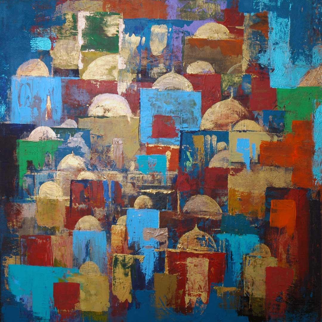 Domes 2 by Siddiqa Juma